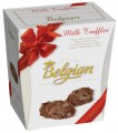 Trufas Belgian con Hojuelas de chocolate 145grs