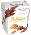 Trufas Belgian con Hojuelas de Chocolate Blanco 145grs